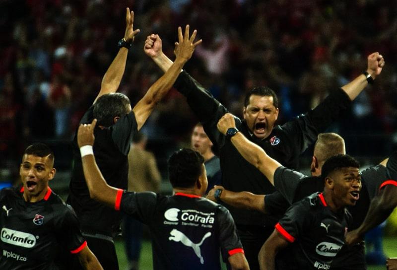 Aldo Bobadilla, Medellín 2 - 1 Cali, Copa Águila 2019, campeón (1)