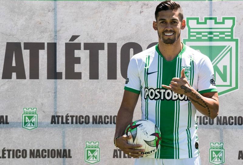 Andrés Andrade, Atlético Nacional, presentación