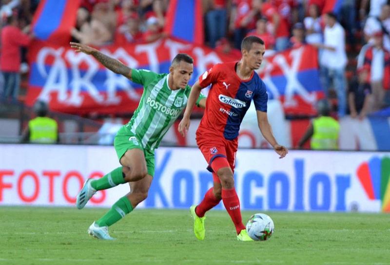 Andrés Ricaurte, DIM 1 - 4 Atlético Nacional, Liga Águila 2019-II