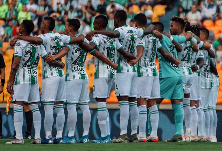 Atlético Nacional 2 - 0 Deportivo Pereira, Liga 2020-I