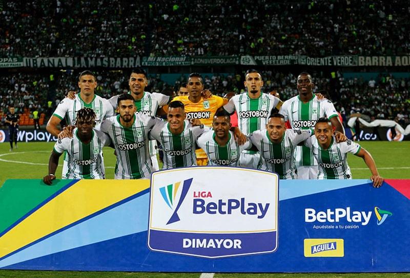 Atlético Nacional 2 - 2 Deportivo Cali, Liga 2020-I