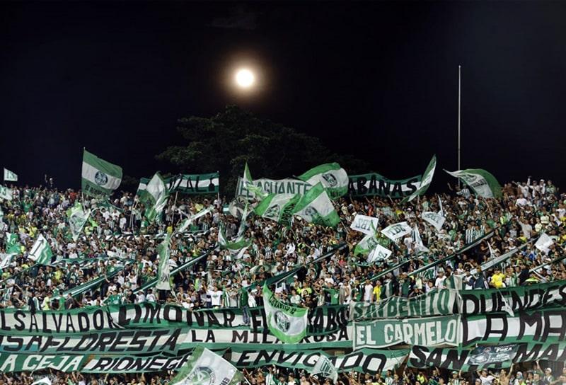 Atlético Nacional, Los del Sur, Copa Sudamericana 2020
