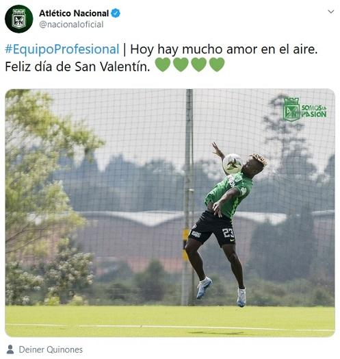 Atlético Nacional, San Valentín