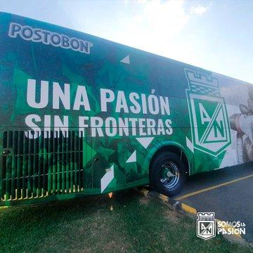 Atlético Nacional, nuevo bus (1)