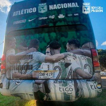 Atlético Nacional, nuevo bus (2)