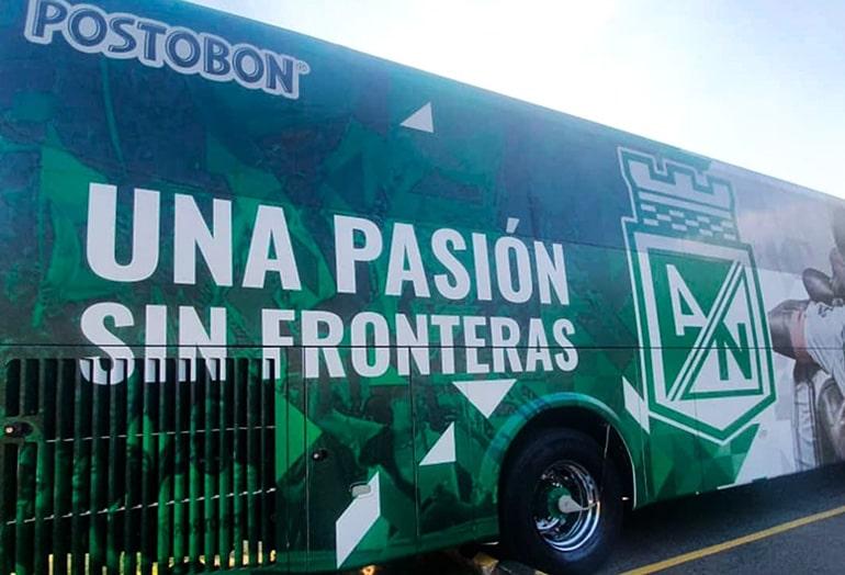 Atlético Nacional, nuevo bus, portada