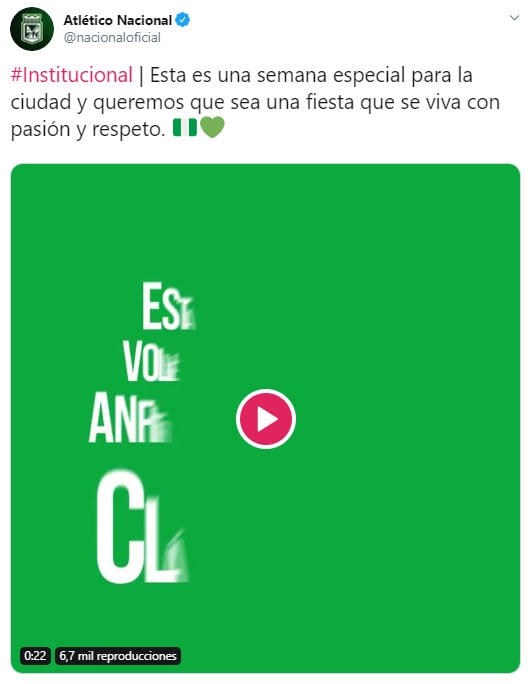Atlético Nacional, video, clásico paisa, Deportivo Independiente Medellín, Liga 2020-I