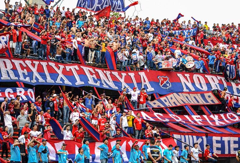 DIM 3 - 1 Patriotas Boyacá, Liga 2020-I, afición