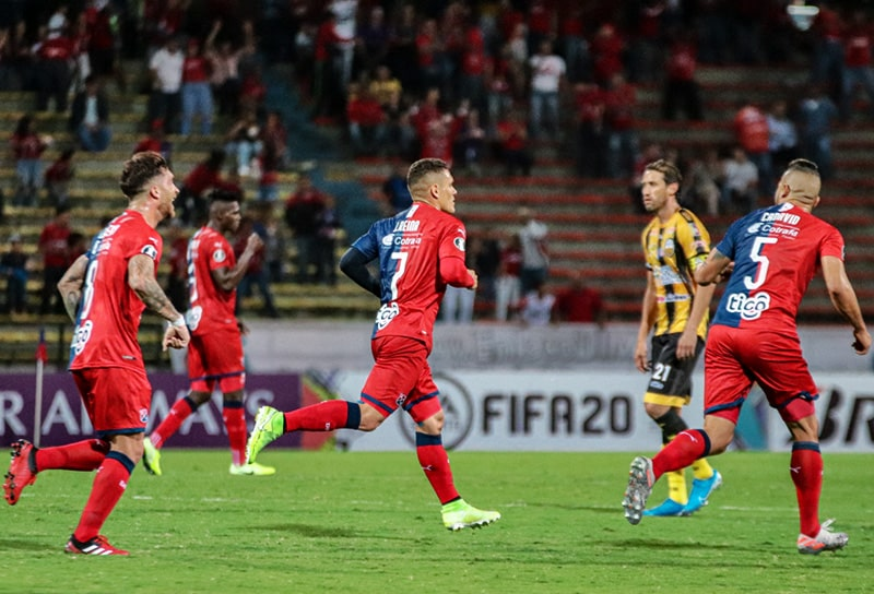 DIM 4 - 0 Deportivo Táchira Fútbol Club, Copa Libertadores 2020
