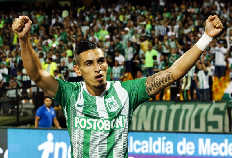 Daniel Muñoz, Atlético Nacional 2 - 3 Cúcuta Deportivo, Liga Águila 2019-II (1)