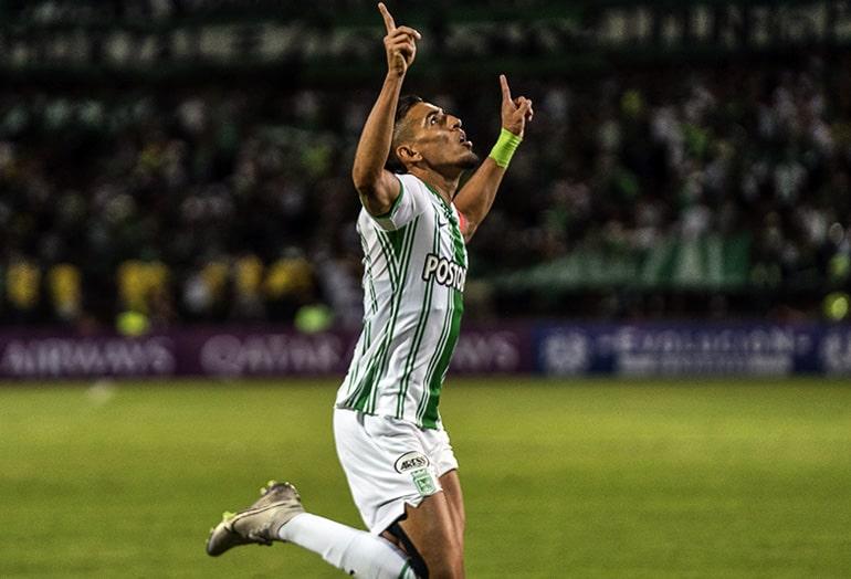Daniel Muñoz, Atlético Nacional 3 - 0 Club Atlético Huracán, Copa Sudamericana 2020 (1)
