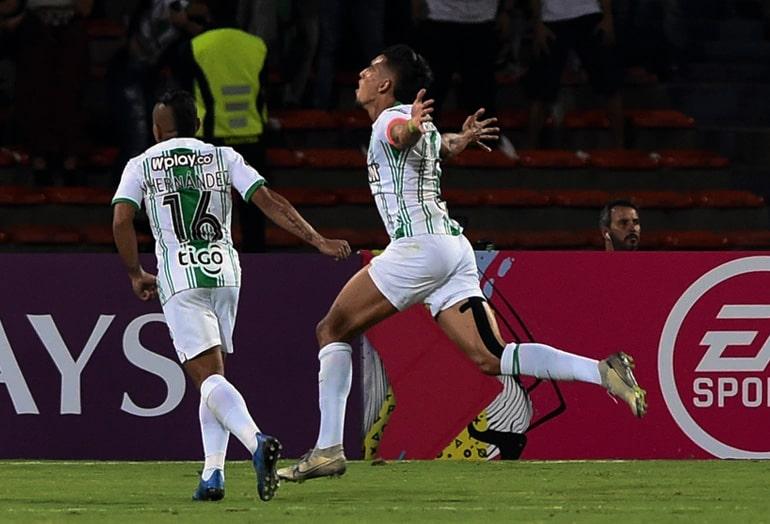 Daniel Muñoz, Atlético Nacional 3 - 0 Club Atlético Huracán, Copa Sudamericana 2020