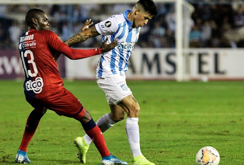 Didier Delgado, Tucumán 1 - 0 Medellín, Copa Libertadores 2020