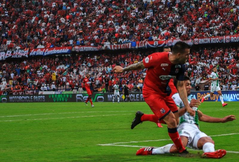 Federico Laurito, DIM 1 - 3 Atlético Nacional, Liga 2020-I