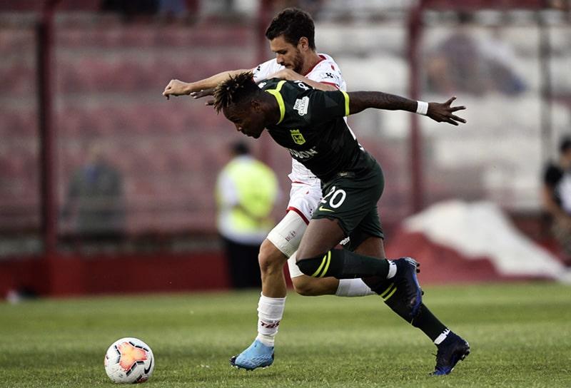 Gustavo Torres, Club Atlético Huracán 1 - 1 Atlético Nacional, Copa Sudamericana 2020