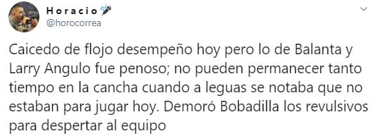 Horacio Correa, Táchira 2 - 0 Medellín, Copa Libertadores 2020 (1)