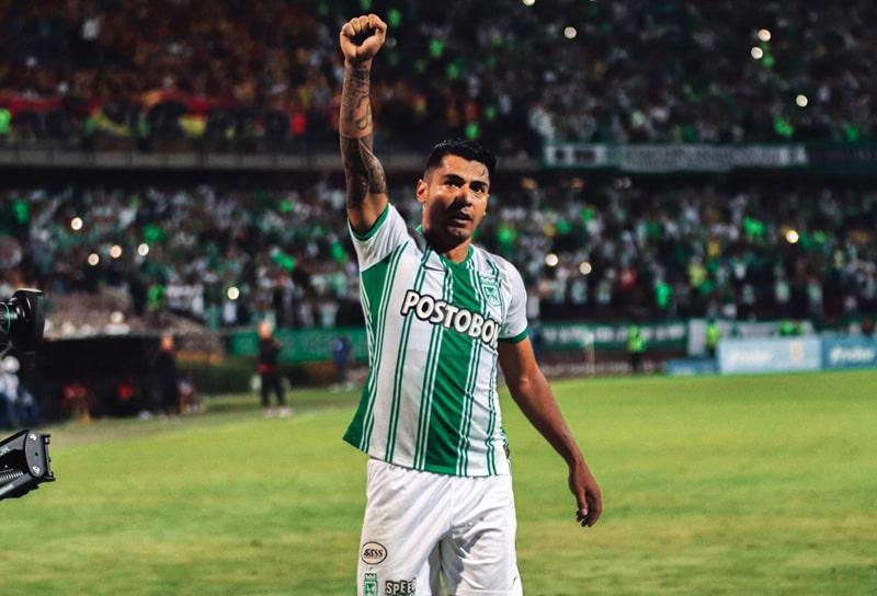 Jéfferson Duque, Atlético Nacional 2 - 0 Deportivo Pereira, Liga 2020-I (1)