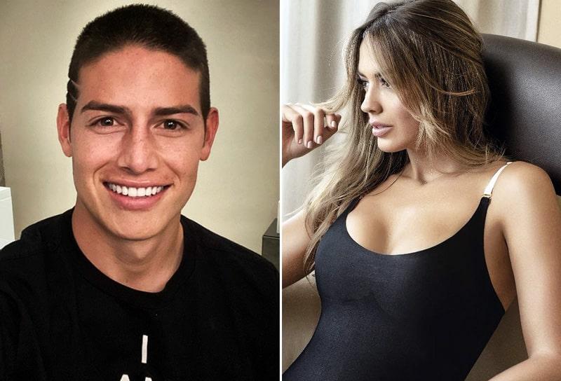 James Rodríguez, Shannon de Lima, portada, Fútbol y Ellas