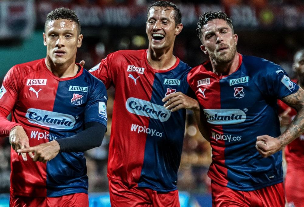 Javier Reina, Andrés Ricaurte, Adrián Arregui, DIM 2 - 1 Rionegro Águilas, Liga 2020-I