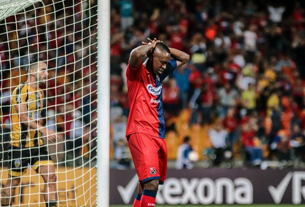 Juan Fernando Caicedo, Medellín 4 - 0 Táchira, Copa Libertadores 2020