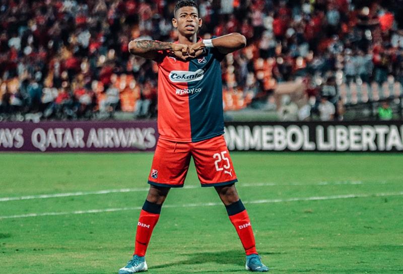 Juan Manuel Cuesta, Medellín 4 - 0 Táchira, Copa Libertadores 2020