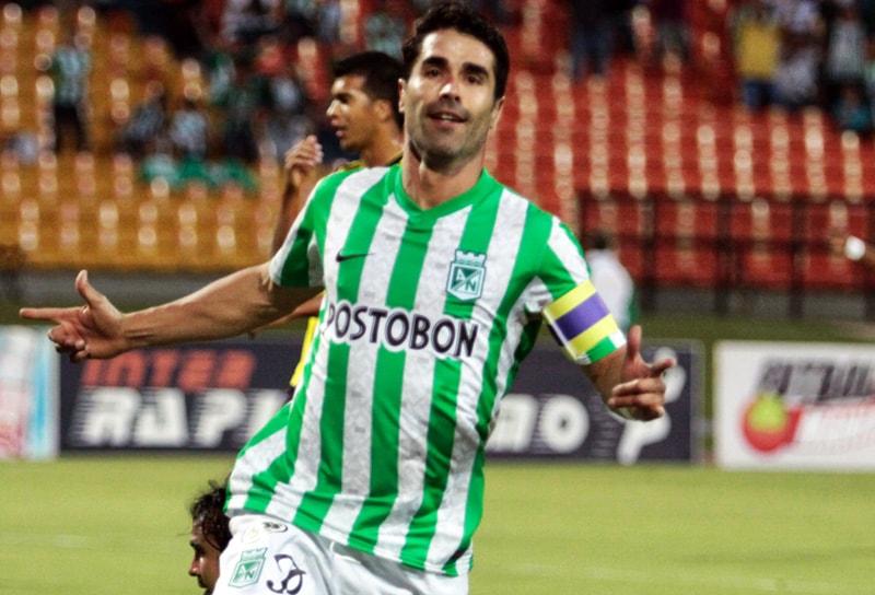 Juan Pablo Ángel, ex Atlético Nacional