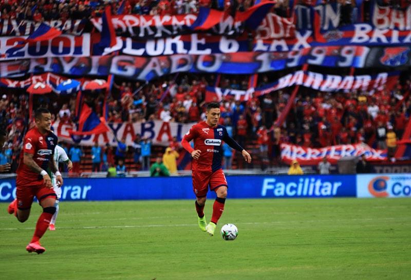 Leonardo Castro, Javier Reina, DIM 1 - 3 Atlético Nacional, Liga 2020-I