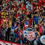 Medellín 4 - 0 Táchira, Copa Libertadores 2020, afición