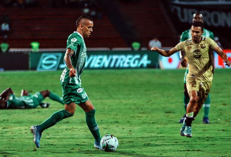 Neyder Moreno, Atlético Nacional 1 - 0 Águilas Doradas, Liga Águila 2019-II