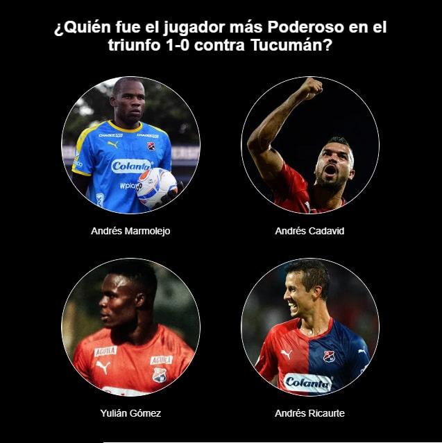 ¿Quién fue el jugador más Poderoso en el triunfo 1-0 contra Tucumán?