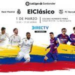 ElClásico español fans de LaLiga en Barranquilla