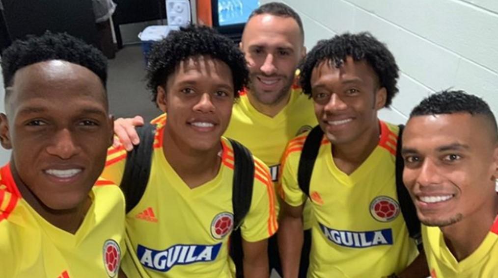 Yairo Moreno Selección Colombia