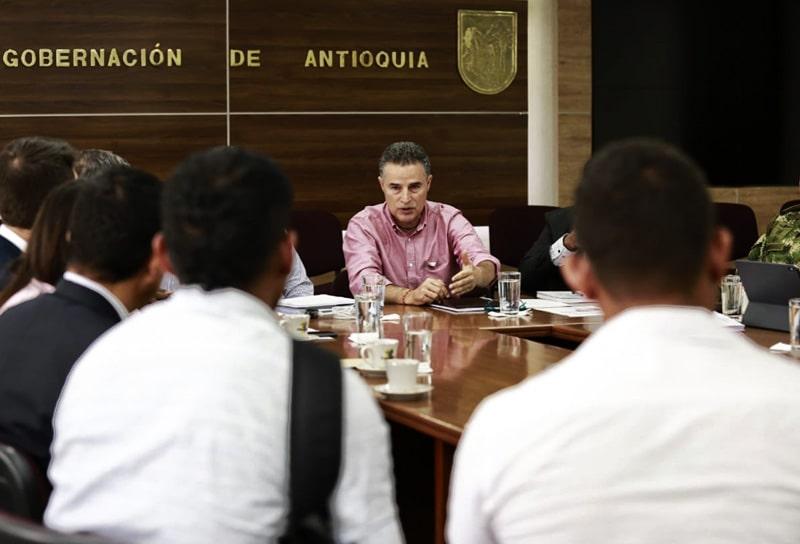 Aníbal Gaviria Correa, gobernador, Antioquia