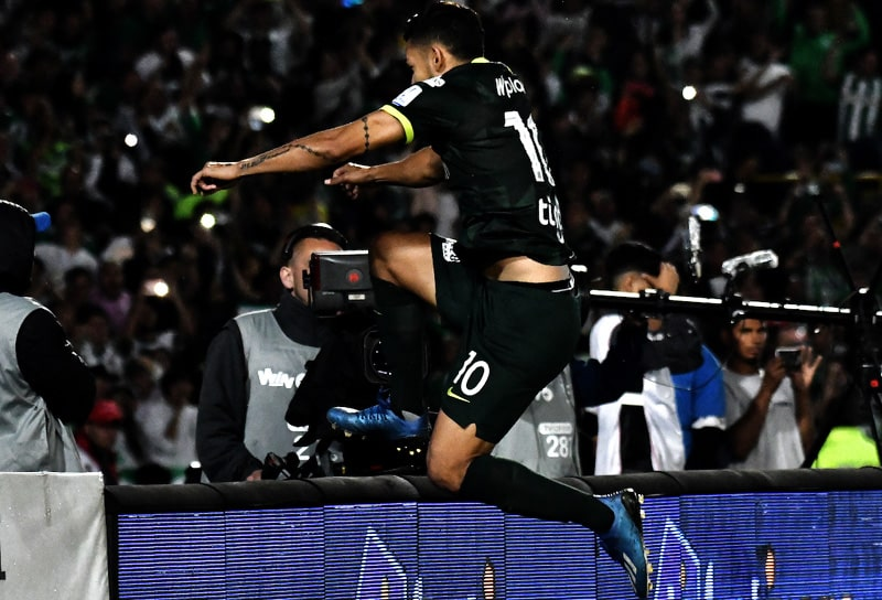 Andrés Andrade, Independiente Santa Fe 2 - 2 Atlético Nacional, Liga 2020-I