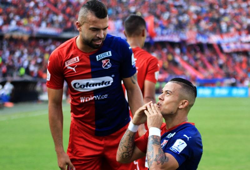 Andrés Cadavid, Leonardo Castro, Atlético Nacional 1 - 1 DIM, Liga 2020-I