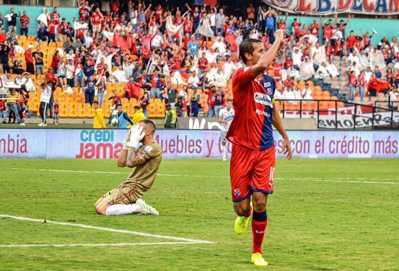 Andrés Ricaurte, Deportivo Independiente Medellín 3 - 1 Patriotas Boyacá, Liga 2020-I
