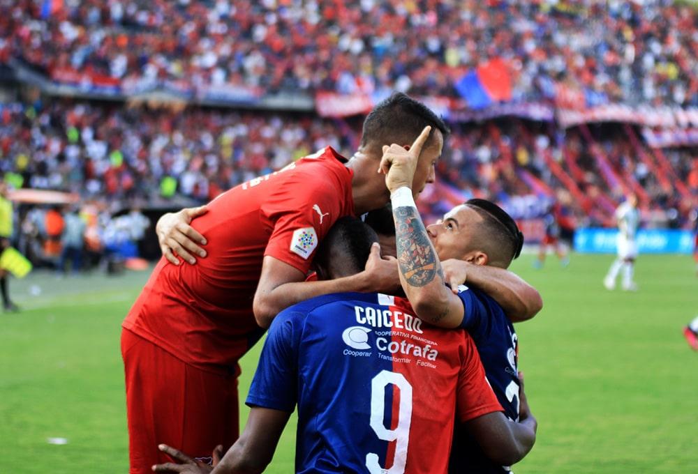 Andrés Ricaurte, Leonardo Castro, Atlético Nacional 1 - 1 DIM, Liga 2020-I