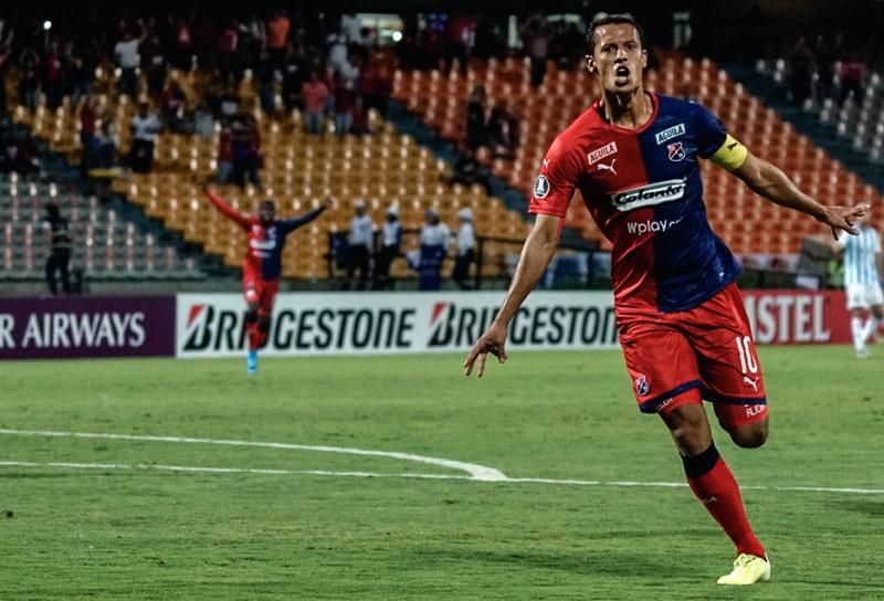 Andrés Ricaurte, Medellín 1 - 0 Tucumán, Copa Libertadores 2020