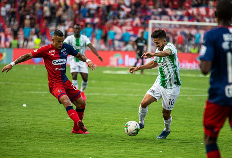 Andrés 'Rifle' Andrade, Atlético Nacional 1 - 1 Deportivo Independiente Medellín, Liga 2020-I
