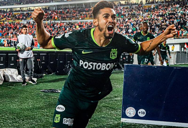 Andrés 'Rifle' Andrade, Independiente Santa Fe 2 - 2 Atlético Nacional, Liga 2020-I