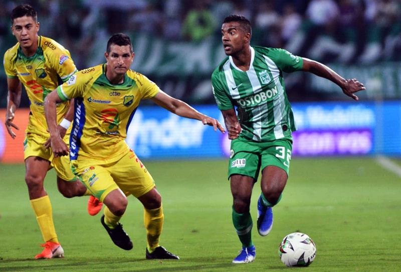Christian Mafla, Atlético Nacional vs. Atlético Huila, Liga Águila 2019-II