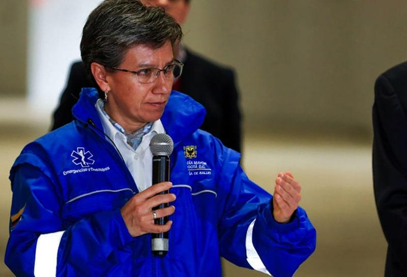 Claudia López, Bogotá, coronavirus COVID-19
