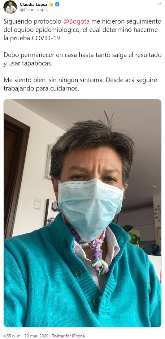 Claudia López, COVID-19, análisis, Bogotá