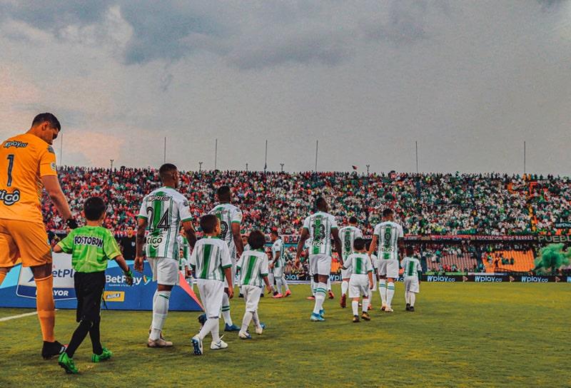 DIM 1 - 3 Atlético Nacional, Liga 2020-I
