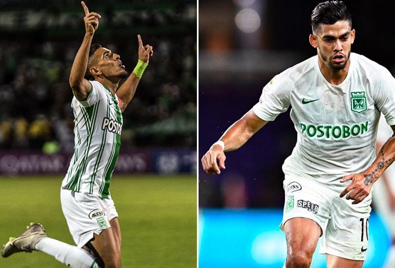 Daniel Muñoz, Andrés Andrade, Atlético Nacional, Liga 2020-I