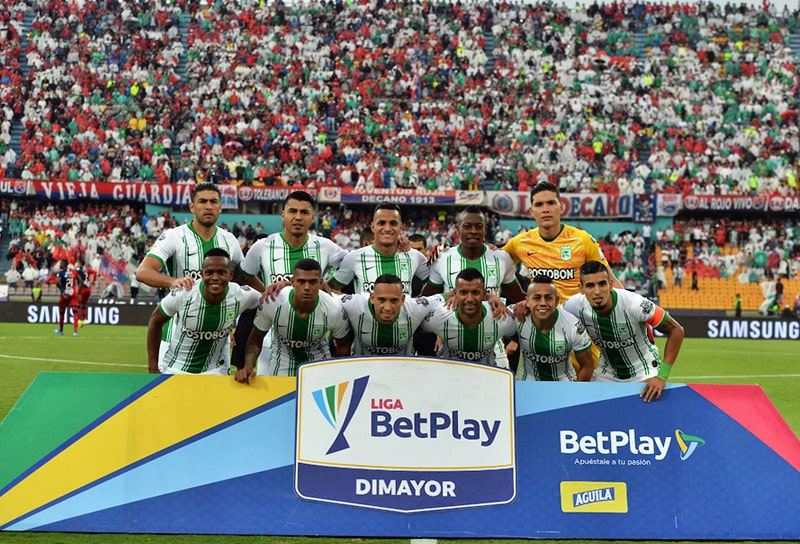 Daniel Muñoz, Vladimir Hernández, Deportivo Independiente Medellín 1 - 3 Atlético Nacional, Liga 2020-I