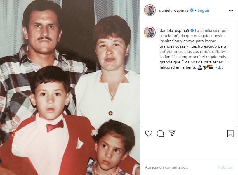 Daniela Ospina, Instagram