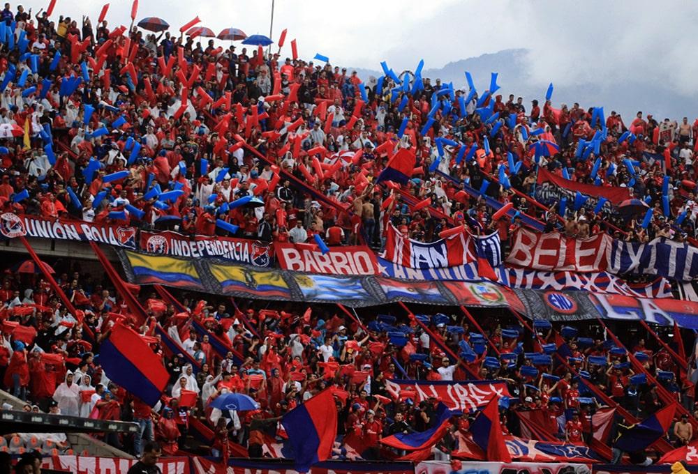 Deportivo Independiente Medellín 1 - 3 Atlético Nacional, Liga 2020-I, afición