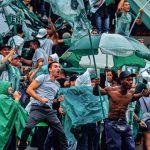 Deportivo Independiente Medellín 1 - 3 Atlético Nacional, Liga 2020-I, hinchada, Los Del Sur