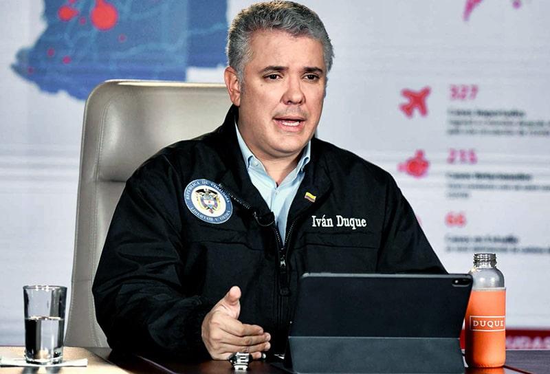 Iván Duque, Colombia, coronavirus COVID-19 (8)